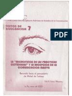 De Certau - La Microfisica de Las Prácticas Cotidianas...