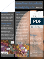 Poster - Structural Analysis of the Valles Marineris Fault Zone