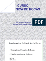 Curso Mecanica de Rocas