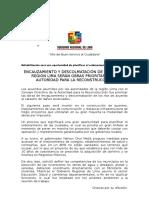 N-0705 Descolmatación y Encauzamiento de Los Rios Será Una Prioridad en Proceso de Reconstrucción Con Cambios