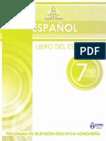 7grado Españollibro Del Estudiante