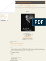 Frank Notestein Rockefeller the Population Council and Eugenics