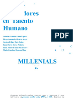 Temas Innovadores y Millennials