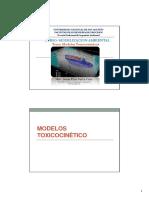 1.2. Modelamiento (Modelos Ecologicos-Toxicocinetica)