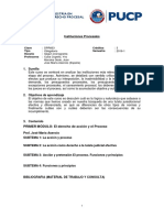 DPR603 Sílabo Instituciones Procesales