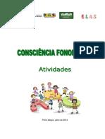 - Consciência Fonológica - Livro de Atividades