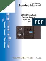 Service Manual RM-711AUC 080226