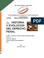 Historia y Evolucion Del Derecho Penal