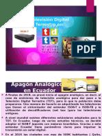 Television Digital Terrestre en Ecuador