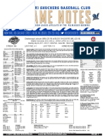 5.20.17 vs. CHA Game Notes