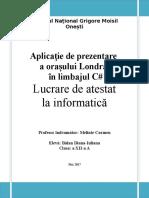 Document Atestat