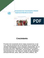 Estándar Internacional Crecimiento Infantil 2010