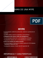 Organigrama de Una Mype