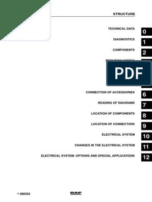 235968270 Manual Esquema Electr Daf Xf   Battery ... on