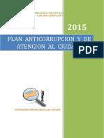 Plan Anticorrupcion 2015 Cdv