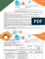 Guía de Actividades y Rúbrica de Evaluación - Actividad 1