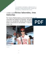 Rocha Conflicto Afectados Por Los Despidos de Iberia