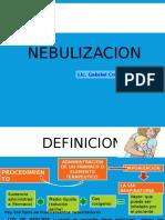 NEBULIZACION