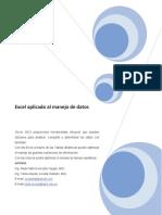 Excel Aplicado a Datos
