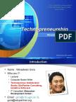 Technopreneurship Presentation 110713044336 Phpapp02