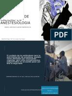 Estándares de Calidad en Anestesiologia