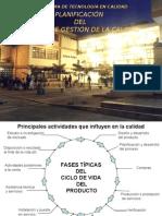 PLANIFICACIÓN DE LA CALIDAD