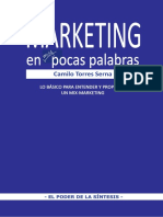 Marketing en Muy Pocas Palabras