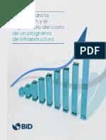 Manual Para La Estimacion y Seguimiento Del Costo Final de Un Programa de Infraestructura