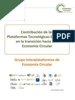 Contribucion de Las PTEs en La Transicion Hacia Una Economia Circular