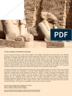 In the Footsteps of Pharaohs and Gods