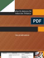 Principales Fallas en Motores de Inducción Trifásica
