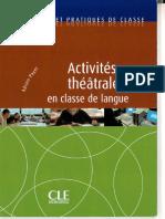 Payet Activités Théatrales en Classe de FLE