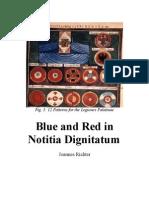 Blue and Red in Notitia Dignitatum