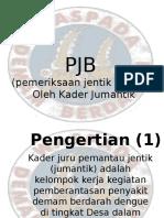PJB (Pemeriksaan Jentik Berkala)