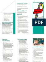 asperger syndrome brochure