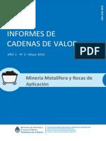 SSPE Mineria Metalifera Rocas (Economia.gob.Ar)