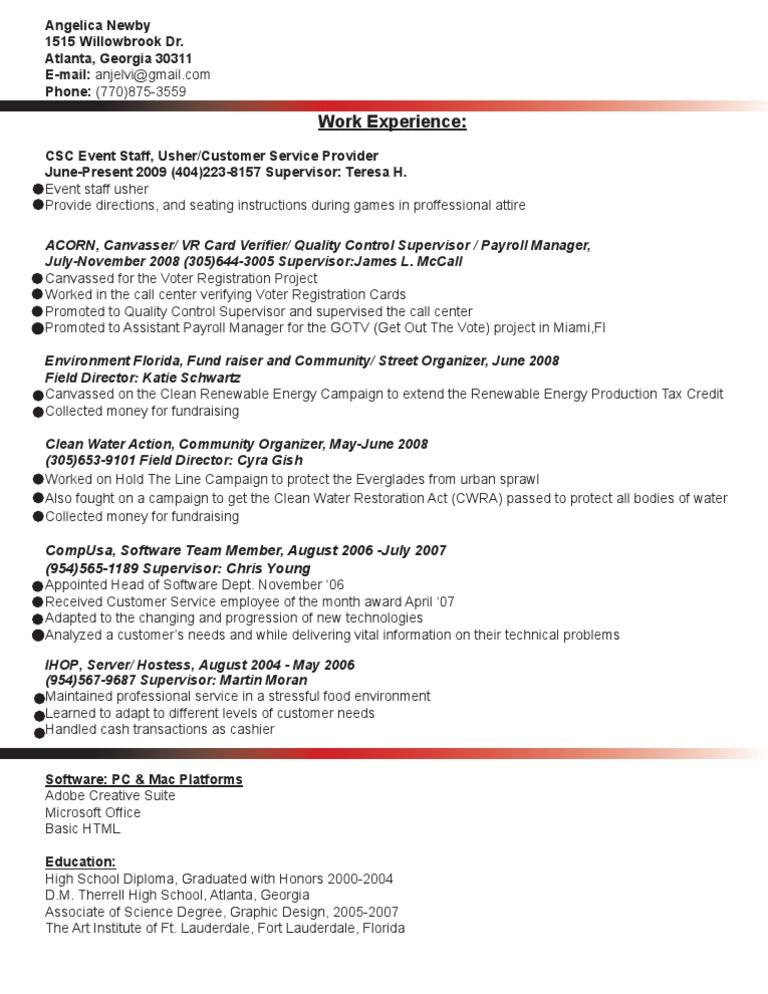 Jobswire com Resume of anjelvi