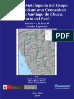 Geología y Metalogenia Del Grupo Calipuy %28volc. Cenozoico%29 Seg. Santiago de Chuco –Nw Del Perú%3b 2010