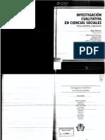 MERLINO 2009 Investigacion Cualitativa en Ciencias Sociales Capitulos 1 y 2