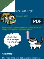 history road trip