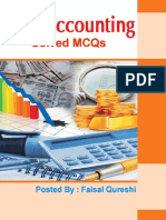 Cost Accounting Solved MCQs