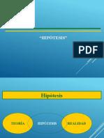 HIPÓTESIS INVESTIGATIVA