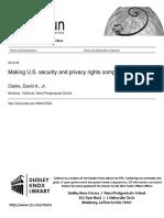 David Clarke thesis