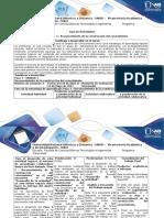 Guía de Actividades y Rúbrica de Evaluación – Paso 3