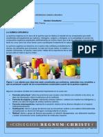 Guía aprendizaje  Química orgànica