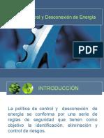 Control y Desconexion de Energia
