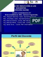 Docentes -Misión Sucre