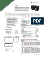 Baterias Vision Cp1270