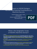 Thayer, Major Powers as ASEAN Dialogue Partners and Potential Contributions to Maritime Security