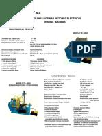 Bobinadoras Tr 5050 Rotor Tr 5060